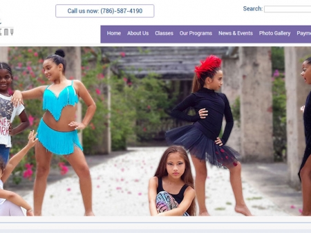 dance-academy-miami-website