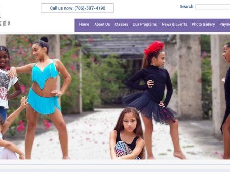 dance-academy-miami-website