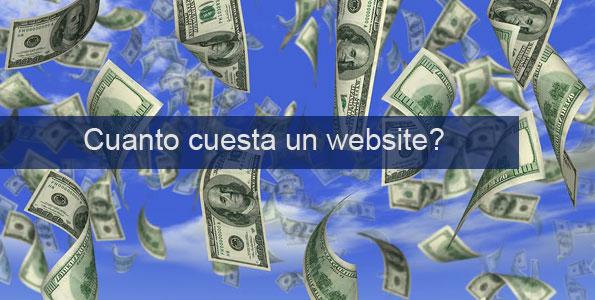 Cual es el precio de un website